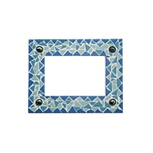 kit mosa que cadre bleu maison pratic boutique pour vos loisirs creatifs et votre deco. Black Bedroom Furniture Sets. Home Design Ideas