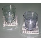 Kit Dessous de verre Argent