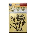 Pochoir-Bambou