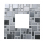 Kit Mosaico artistico specchio  inox fai da te