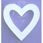 Support Décopatch coeur en carton