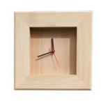 Horloge en hêtre