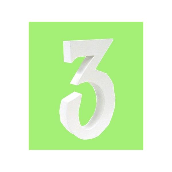 Lettre 3d en carton 3 maison pratic boutique pour vos - Pot en 3 lettres ...