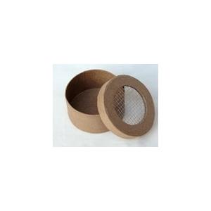 boite ronde grillage carton decoaptch maison pratic boutique pour vos loisirs creatifs et. Black Bedroom Furniture Sets. Home Design Ideas