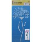 Pochoir géant fleur Pissenlit 2 30x60 cm