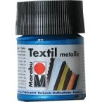 Peinture textile Marabu Métallic Pétrole 50 ml