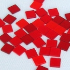 Mosaïc Acryl Rouge transparent