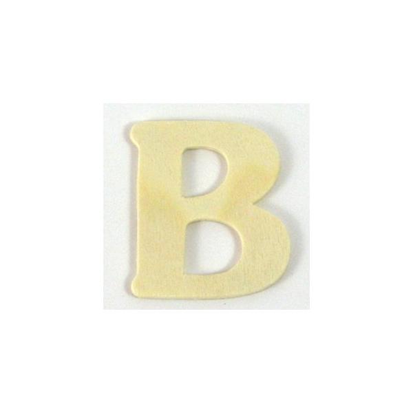 lettre en bois b 4 cm maison pratic boutique pour vos loisirs creatifs et votre deco. Black Bedroom Furniture Sets. Home Design Ideas