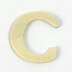 Lettre en bois C. 4 cm