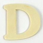 Lettres en bois D. 4 cm