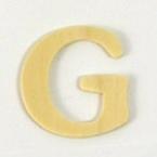 Lettre en Bois  G. 4 cm