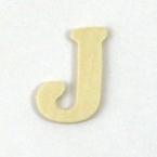 Lettre en Bois  J