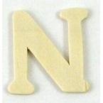 Lettre en bois  N
