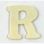 Lettre bois  R