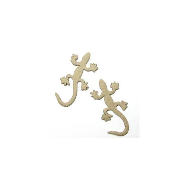 Accessoire en papier mach salamandres x 2 maison - Accessoires loisirs creatifs ...
