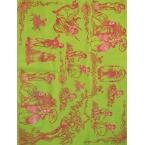 Décopatch paper 520 green pink decopatch