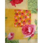 Décopatch paper 306 light pink yellow decopatch