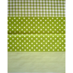 Décopatch Carta 548 Decopatch Verde Bianco