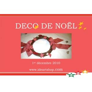Kit modele couronne de no l maison pratic boutique - Modele couronne de noel ...