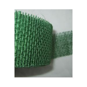 ruban toile de jute amidonn vert fonc 55mm maison pratic boutique pour vos loisirs. Black Bedroom Furniture Sets. Home Design Ideas
