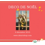 Kit Couronne de Noel deco nature