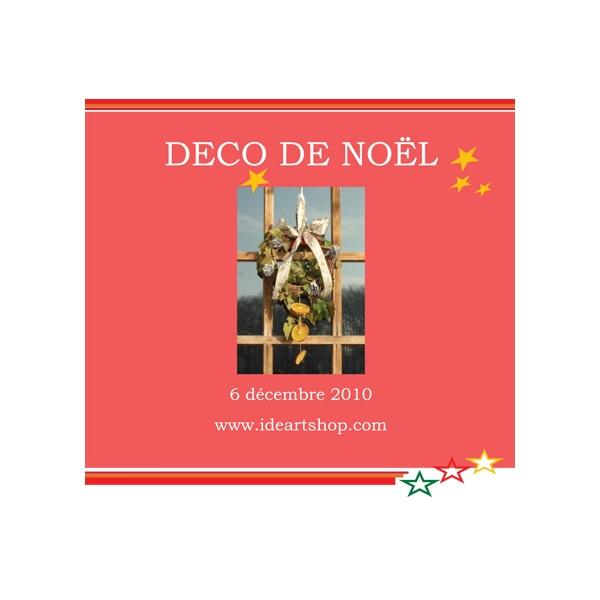 Kit couronne de noel deco nature maison pratic for Idee deco kot