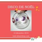 kit boule de Noel à décorer en verre