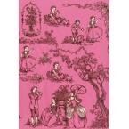 Décopatch Paper 496 Pink Black Decopatch