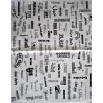 Décopatch Paper 514 White Black Decopatch