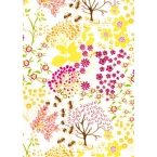 Décopatch Paper 523 yellow Pink Decopatch