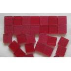 Mosaique acryl rouge Pailletée
