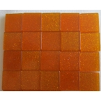 Mosaique Acryl Orange Pailletée