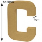 Letter C Craft giant size