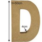 Lettre 3D Géante D