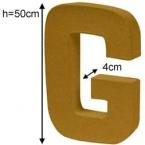 Lettre 3D geante G