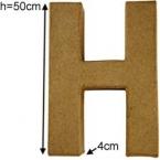 Lettre 3D geante H