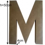 Letter M Craft giant size
