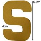 Lettre 3D géante S