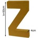 Lettre 3D geante Z