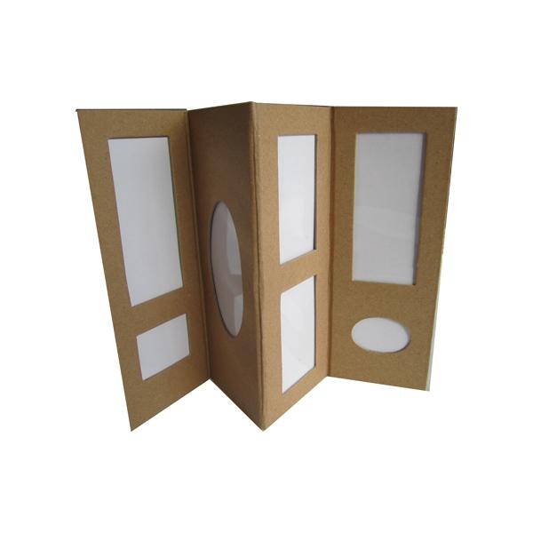 album photos tryptique carton maison pratic boutique. Black Bedroom Furniture Sets. Home Design Ideas