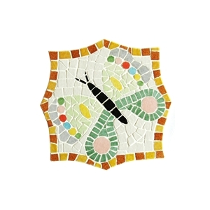 Kit mosaico artistico sottopentole farfalla maison for Mosaico fai da te