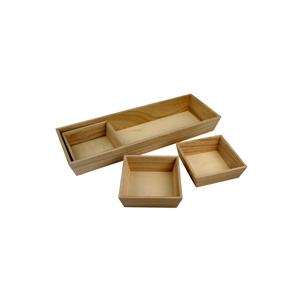 Set de 4 plateaux d corer maison pratic boutique - Comment decorer un plateau en bois ...