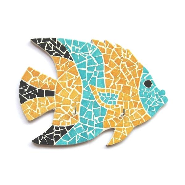 Mosaik set fisch maison pratic boutique pour vos for Mosaikbilder selber machen