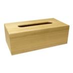 Boîte à mouchoir en bois