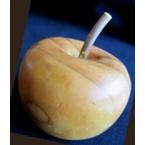 pomme en bois massif