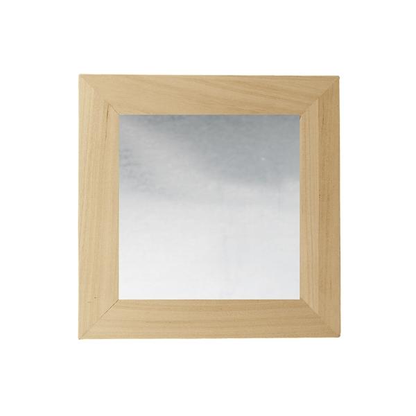 2 cadres miroirs d corer 60cmx60cm maison pratic for Miroir 60 cm de large