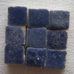 Micromosaique bleu 100 pieces 5mmx5mm