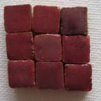 Micromosaique Rouge bordeaux 100 pieces 5mmx5mm