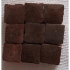 Micromosaique brun 100 pieces 5mmx5mm