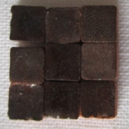Micromosaique brun fonce 100 pieces 5mmx5mm